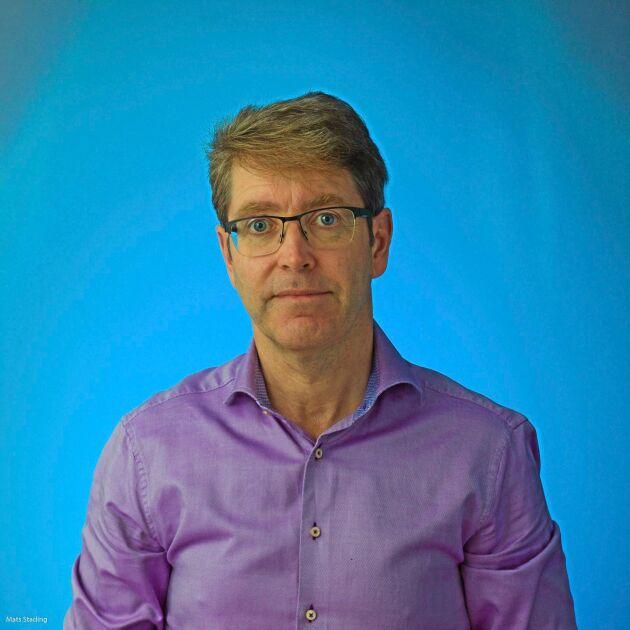 Mats Stading, sektionschef för Produktdesign och perception på RISE, en av få svenskar som odlat muskelceller.