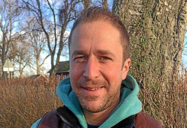 Erik Johansson är en nöjd delägare av en T 814C.