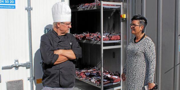 Kommuner stödköper svenskt kött