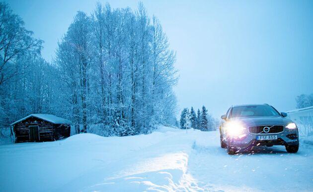 ATL:s testförare Ia Wadendal har provkört Volvo V60 cc i riktigt vinterväglag.