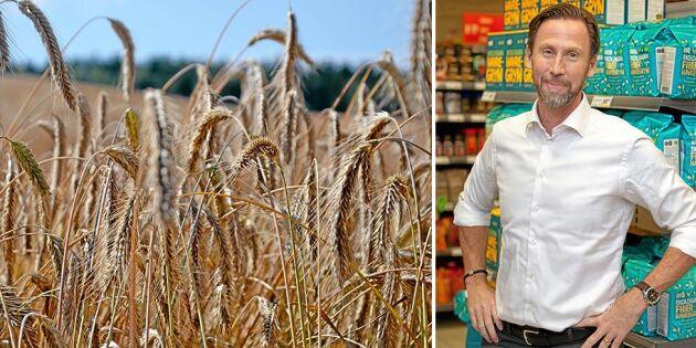 Torkan påverkar hela livsmedelshandeln