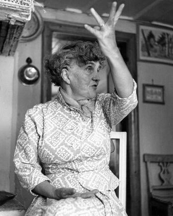 Moa Martinsson var en stark kvinna medkraftfulla uttryck och tydliga åsikter.
