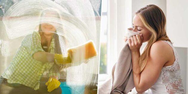 Så vårstädar du med rent samvete – 5 miljövänliga tips