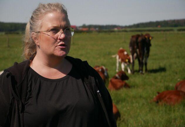 Sigrid Agenäs är husdjursagronom och professor vid SLU. Hon är projektansvarig för forskningen som pågår minst tre år.