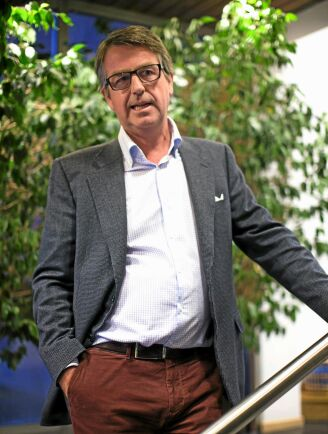 Ulf Dafgård är VD för familjeföretaget Gunnar Dafgård AB som förra året slog nytt omsättningsrekord.