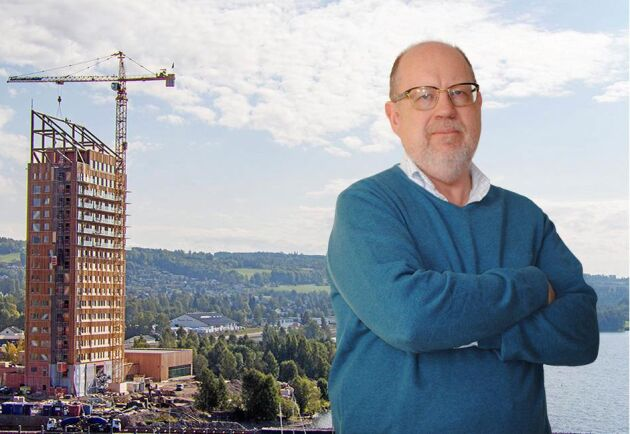 Sverige borde bygga fler offentliga byggnader i trä, tycker Knut Persson i sin ledare.