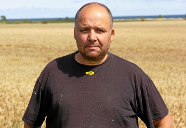 Roger Gustafsson är ordförande för LRF:s kommungrupp i Mörbylånga.