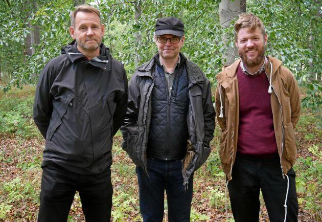ATLs reportrar Ulf Aronsson, David Larsson och Oskar Schönning startar ATLs trädpodd.