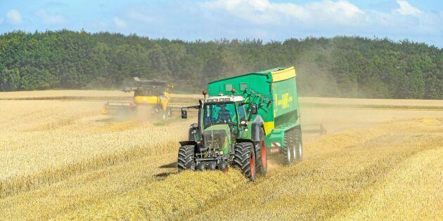 Minister ger besked om spannmålstransport