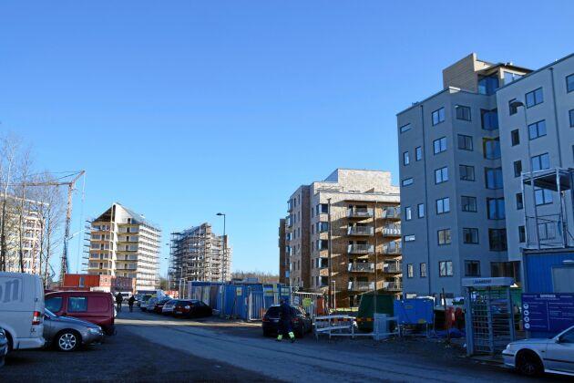 När Frostaliden i Skövdeär klart 2020 kommer det att finnas 369 lägenheter på området.