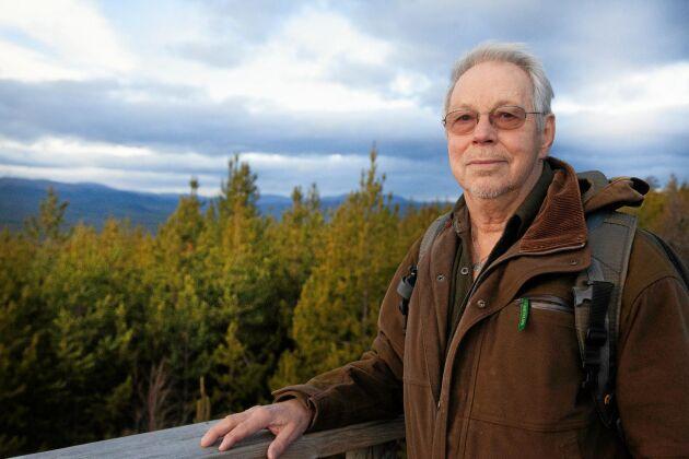 Mats Ricklund, ordförande för Myskoxcentrum, hoppas att fler myskoxar kan sättas ut till den vilda flocken för att minska risken för inavel.
