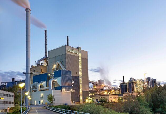Billerud Korsnäs produktionsanläggning i Skärblacka, strax utanför Norrköping.