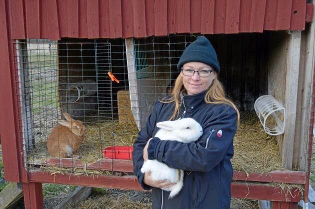 Malin Sundmark, ordförande i Kaninproducenterna