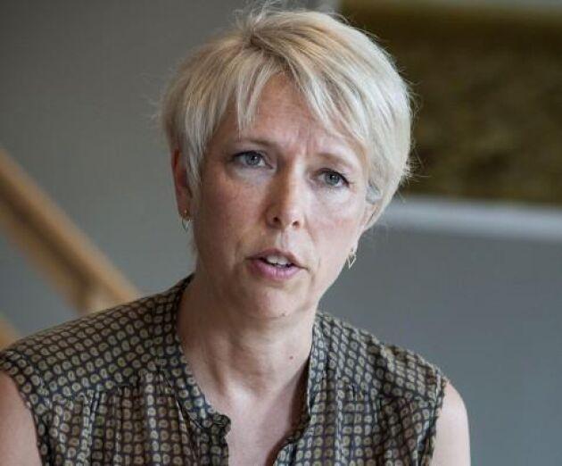 """""""Avtal ska hållas"""" säger Helena Jonsson, LRF:s ordförande."""