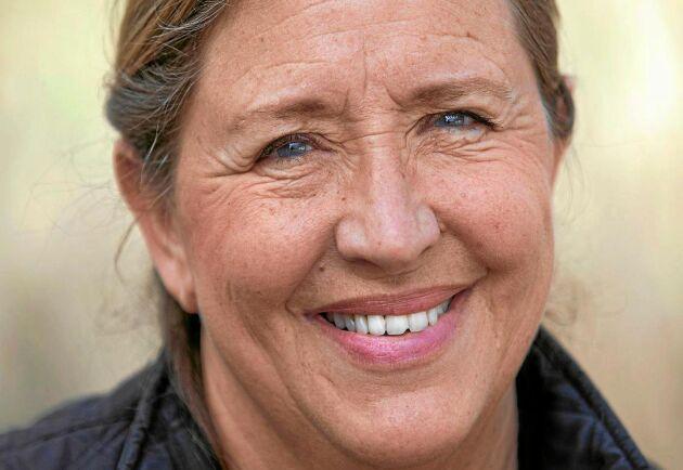 – Det är fantastiskt att se vilken lugnande effekt djuren har, säger Gill Croona som startat grön rehab på sin gård i Halland.