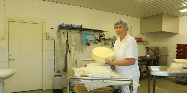 Monicas gårdsbutik plundrades av tjuvar – blev av med 80 kilo ost