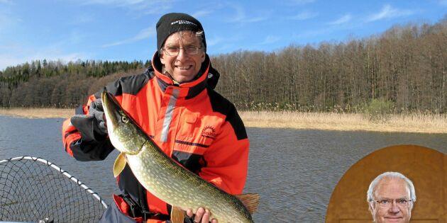 Kungen vill ha mer fisketurism på landsbygden
