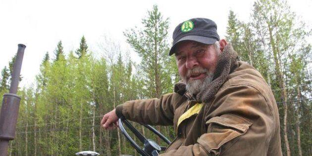Åke tvingas avbryta traktorresan till Nordkap