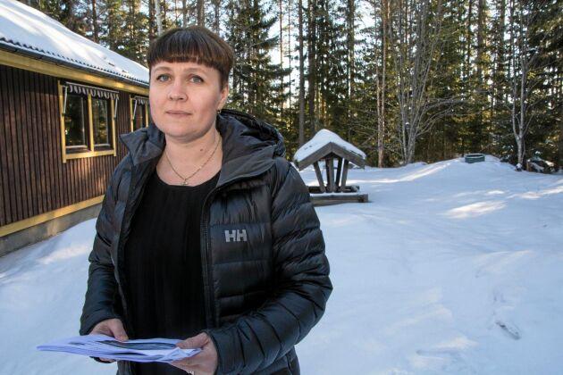 Lana Molberg är kommunfullmäktigeledamot utan partitillhörighet och misstror kommunens satsning på fria vattenvägar.