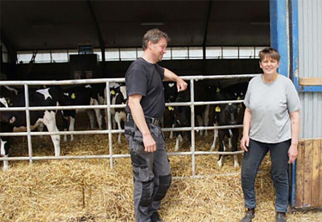 Roland och Eva Persson har sin gård på Österlen i Skåne. De har robotstall som de planerade att utöka 2014, men i stället hamnade de i en lång rättsprocess.