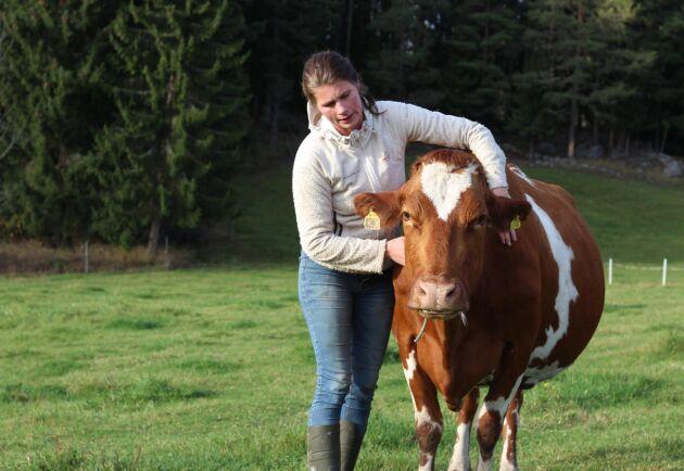 Isabell Enkvist har tidigare jobbat på restaurang, med event och på festivaler. Hon har även jobbat med hästar och som djurskötare på en stor mjölkgård. Hon ser hur intresset för småskalig och hantverksmässig mjölkproduktion ökar.