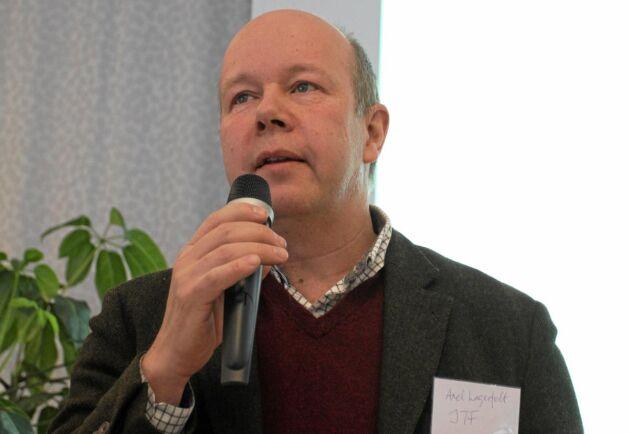 Axel Lagerfelt, ordförande i Svenska Ägg.