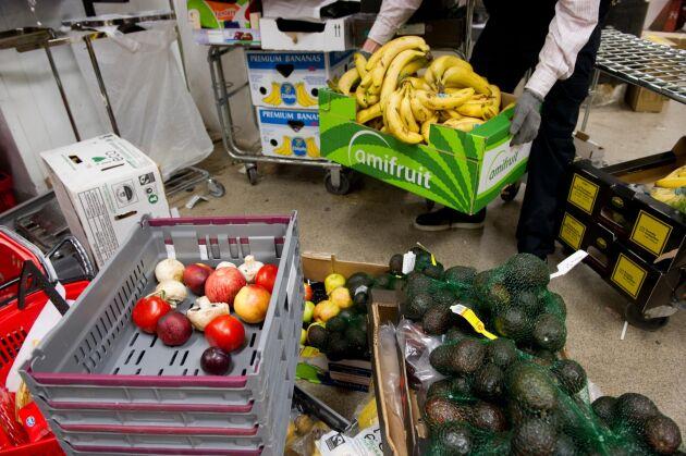En livsmedelsbutik i Jämtland har slarvat med bland annat märkningen av livsmedel. Butiken på bilden har inget med artikeln att göra.