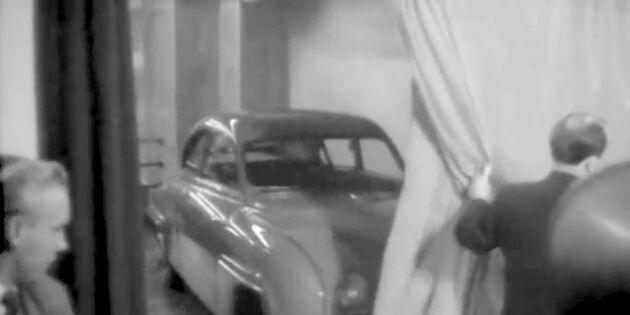 Nostalgi: Här avslöjas 50-talets splitternya SAAB