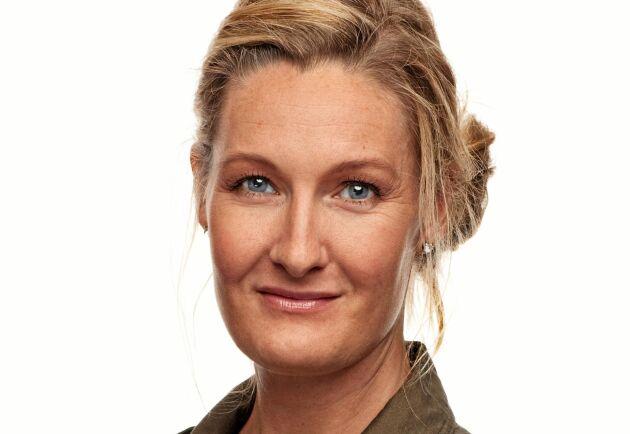 Caroline Starck, Arlas kommunikationsdirektör, menar att Arla är extremt stolta över bönderna.