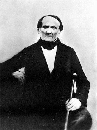 Eldsjäl. Apotekare C G Sundelius var eldsjälen bakom Peter Cassels utvandring. Däremot finns inga bevarade bilder på huvudpersonen själv. Kanske besökte Peter Cassel aldrig någon fotograf.
