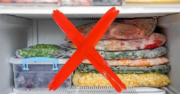Börja plastbanta genom att sluta frysa in mat i plastpåsar. Gör så här i stället!