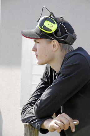 18-årige Emil Jansson deltar i Land Lantbruks tävling Teknikutmaningen.