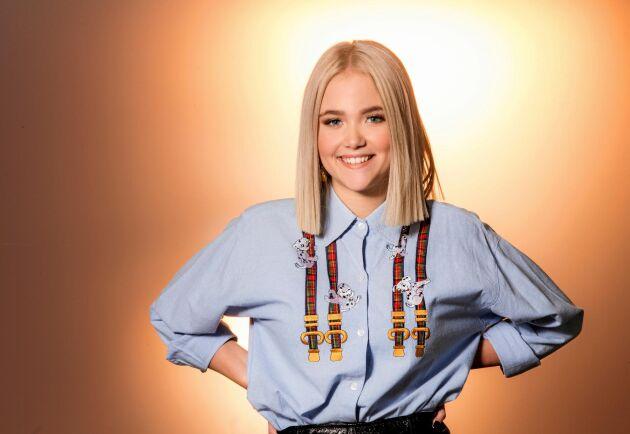 15-åriga Malou Prytz från småländska Ryd gör debut i Melodifestivalen 2019 med låten I do me.