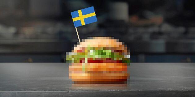 McDonald's har utvecklat nordisk variant av halloumi