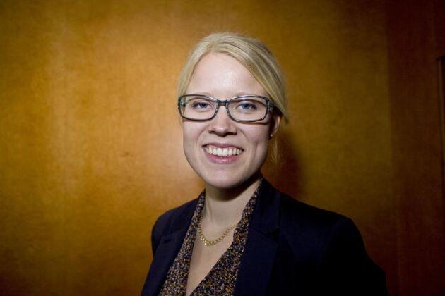 Kristina Yngwe, ordförande för LRF Ungdomen, nummer 17 på listan