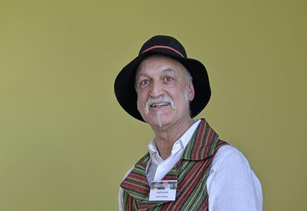 David Naraine, grundare av Andelslamm som idag har sex anslutna gårdar.