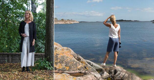 Lisa Söderblom syr kläder som hon älskar att bära själv.