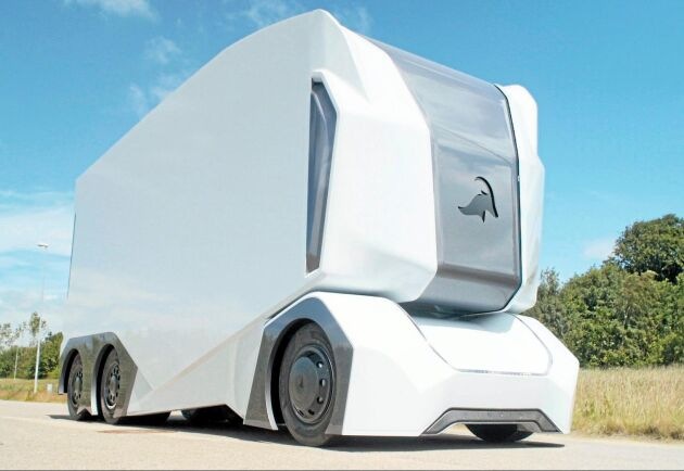 Den eldrivna och fjärrstyrda lastbilen kan dyka upp redan om ett par år.