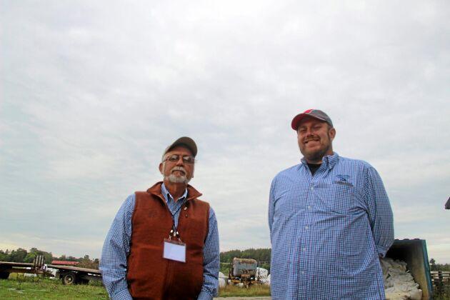 Jim Wedeberg och Dan Mosgaller Organic Valley.