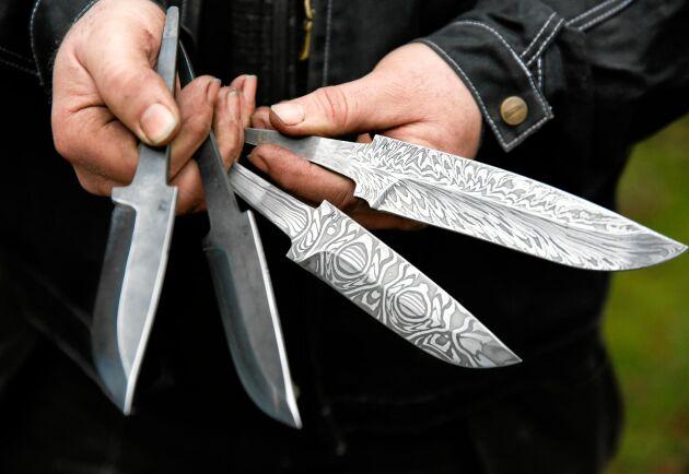Magnus Jönssons knivar har blivit högt eftertraktade, även utanför Sveriges gränser.