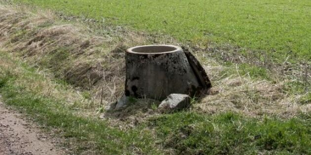 Lågt grundvatten – brunnar riskerar sina
