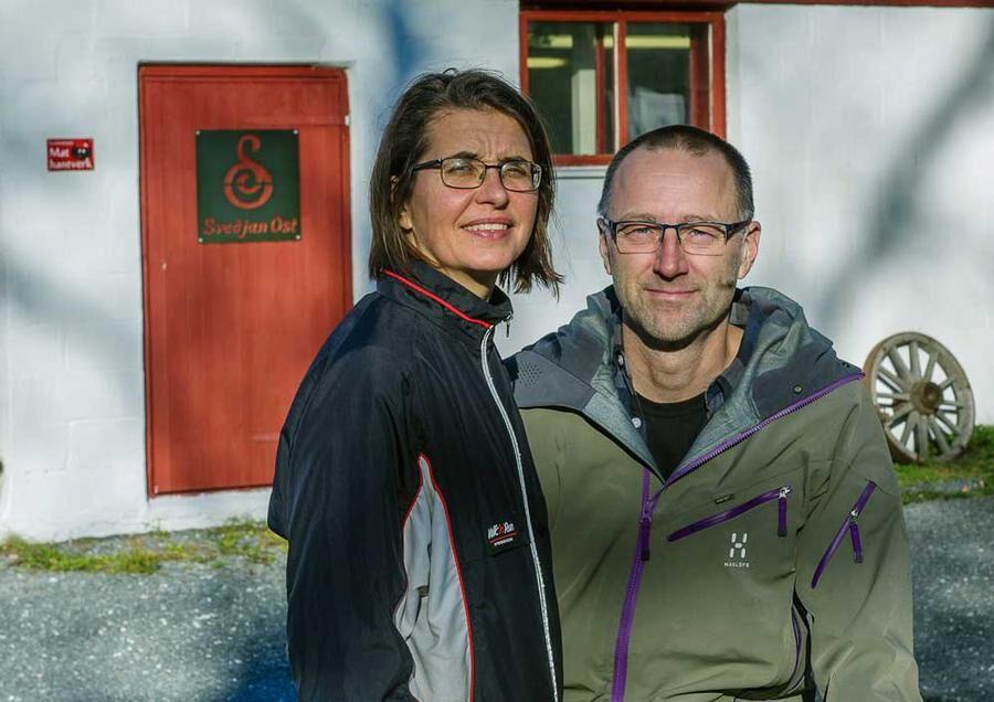 Johanna och Per Hellström. Foto: Erland Segerstedt