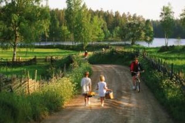 Cykla är mysigt och tillåtet för det allra mesta.