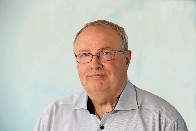 Mikael Bengtson är en av ägarna till ReAgro som samlar in skrot på gårdar.