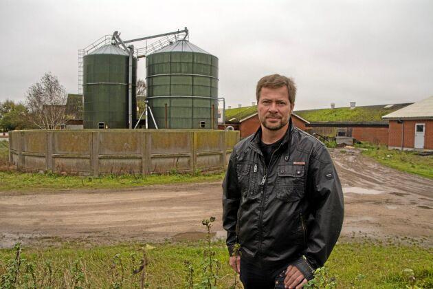 Niels Vestergaard Salling är smågrisuppfödare med 660 suggor i Jerslev, Brønderslev kommun, på Jylland.