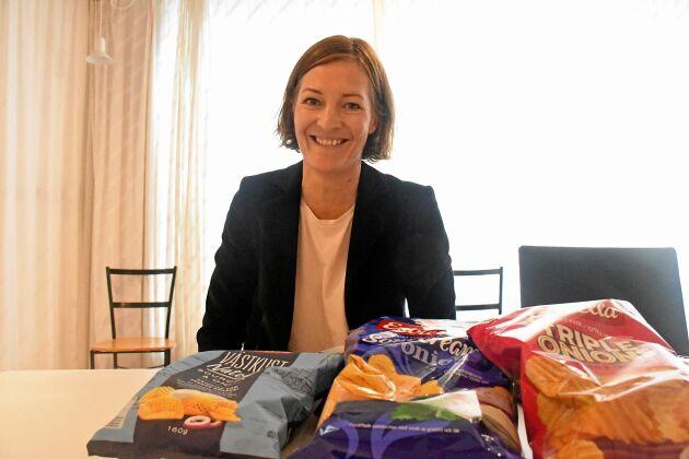 Sofi Randén konstaterar att Estrella jobbat hårt med både hälsofrågor och miljöfrågor de senaste åren