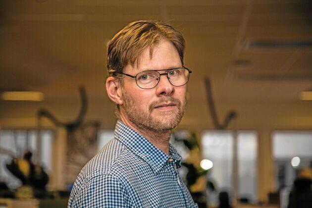 Anders Drottja, krisberedskapsansvarig vid LRF.