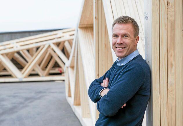 – Vi har vuxit i många år, det är ett naturligt inslag i företaget, säger Johan Winroth.