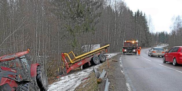 """Traktorolyckan: """"Jag var bara en passagerare"""""""