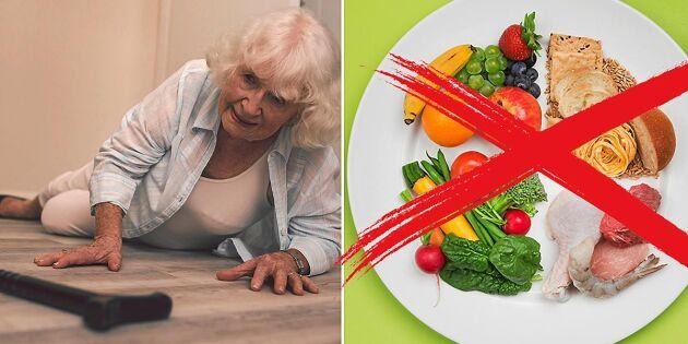 Livsmedelverket: Dina matvanor kan förebygga fallolyckor